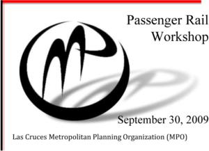 Passenger Rail Workshop