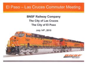 BNSF-Rail Presentation